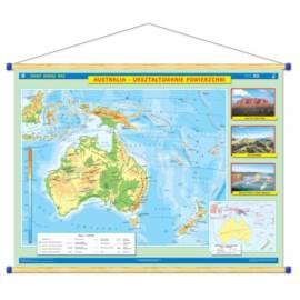 Australia. Ukształtowanie powierzchni/Krajobrazy