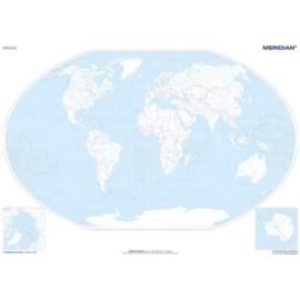 Mapa konturowa świata