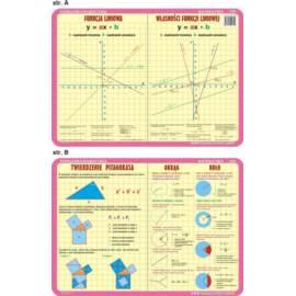 Matematyka 030 - podkładka 40x30 cm