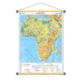 Afryka. Mapa ogólnogeograficzna/mapa do ćwiczeń