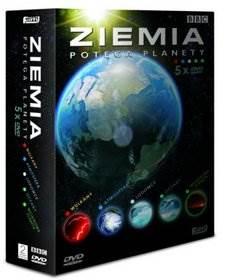 ZIEMIA POTĘGA PLANETY - BOX 5 x DVD