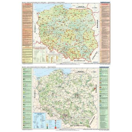DUO Mapa krajoznawcza Polski - historia i kultura