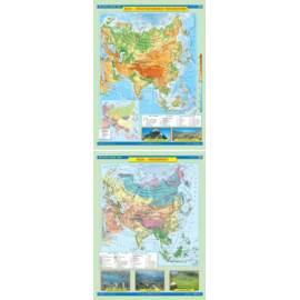 Azja. Ukształtowanie powierzchni/Krajobrazy