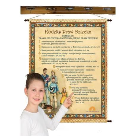 Kodeks Praw Dziecka 97 x 130 cm