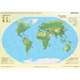 Świat rozmieszczenie ludności - ekumena, subekumen