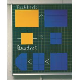Figury płaskie tablicowe magnetyczne geometria