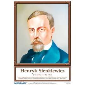 Portrety pisarzy polskich - komplet 20 plansz