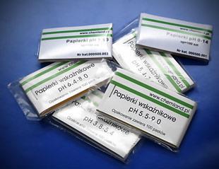 Paski wskaźnikowe pH zakres 1-14 100 szt.
