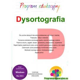 Dysortografia lic. wielostanowiskowa wieczysta