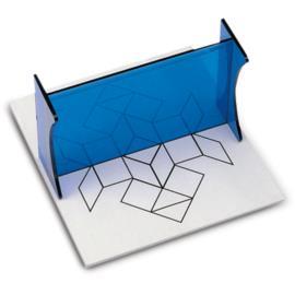 Przyrząd do rysowania odwzorowań symetrycznych
