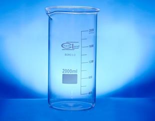 Zlewka wysoka 00100 ml borokrzem