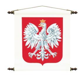 Godło RP z hymnem Polski 48 x 50 cm