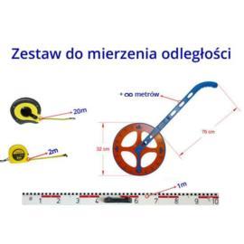 Mierzenie długości - rabatowy zestaw miar