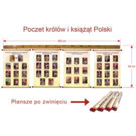 Poczet królów i książąt Polski panoramiczna ekspoz