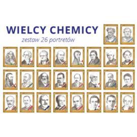Wielcy chemicy - zestaw 26 portretów A4