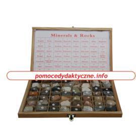 Skały i minerały - kolekcja 56